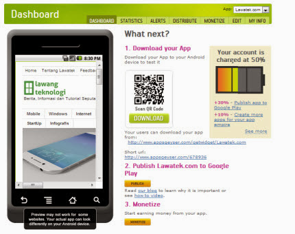 appsgeyser membuat aplikasi android tanpa koding