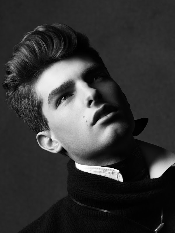 Paolo Anchisi @ Ford by Paul Maffi for Varón magazine Vol 2, F/W 2011.  Styled by Tom Van Dorpe