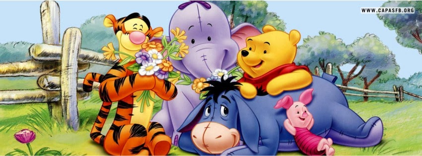 Capas para Facebook Ursinho Pooh