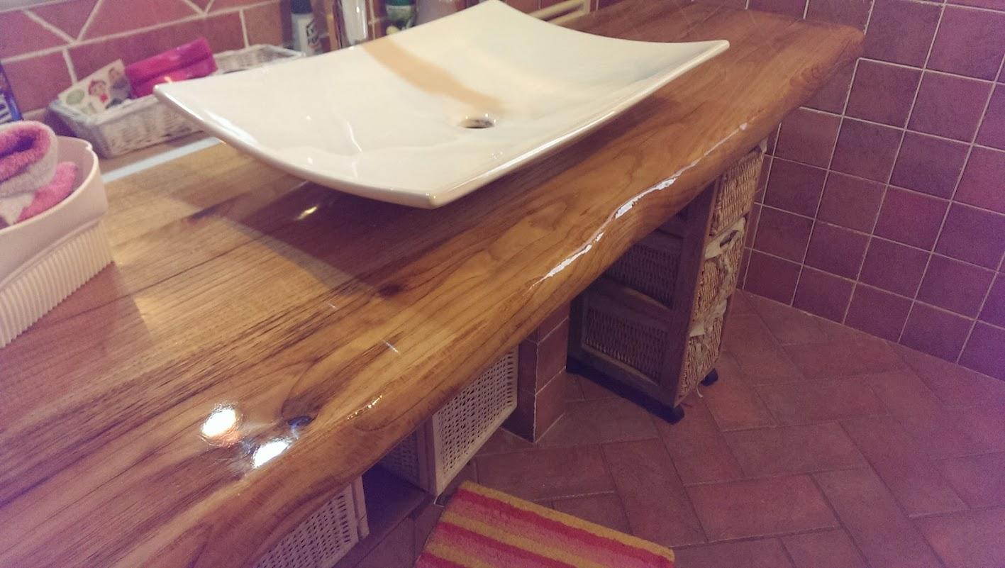 Lavandino bagno in legno: portfolio lavandini legno. lavabo da ...