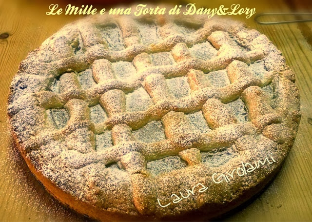 crostata morbida con crema di limoni all'acqua