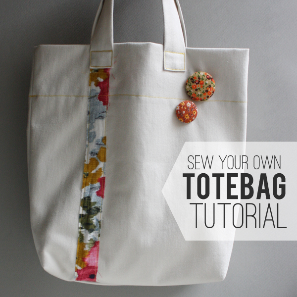 michael ann made.: sew your own tote bag tutorial