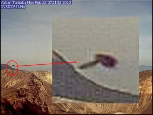Long History Of Ufo Sightings At Costa Rican Volcano