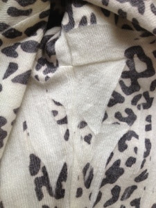 Missing Animal Print Cardigan from Forever 21