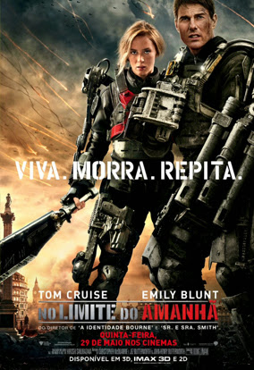 Filme Poster No Limite do Amanhã HDTS XviD Dual Audio & RMVB Dublado