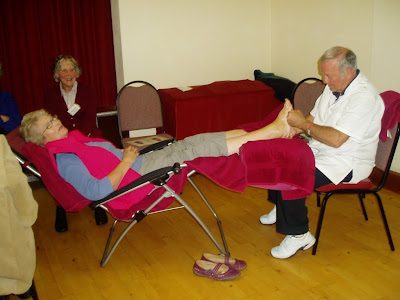Reflexology at Older People's Day - Monday 1st October