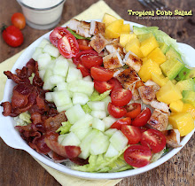 Thumbnail image for Tropical Cobb Salad with Garlic Dressing