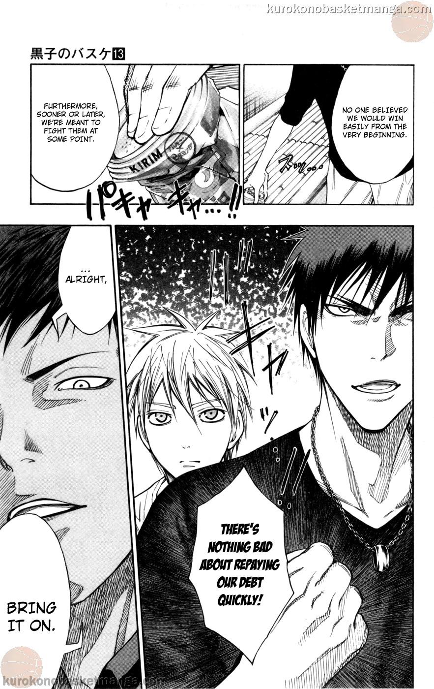 Kuroko no Basket Manga Chapter 110 - Image 19