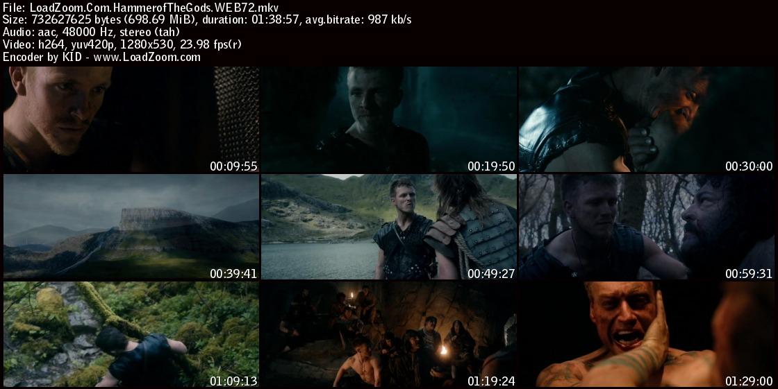 movie screenshot of Hammer of the Gods fdmovie.com