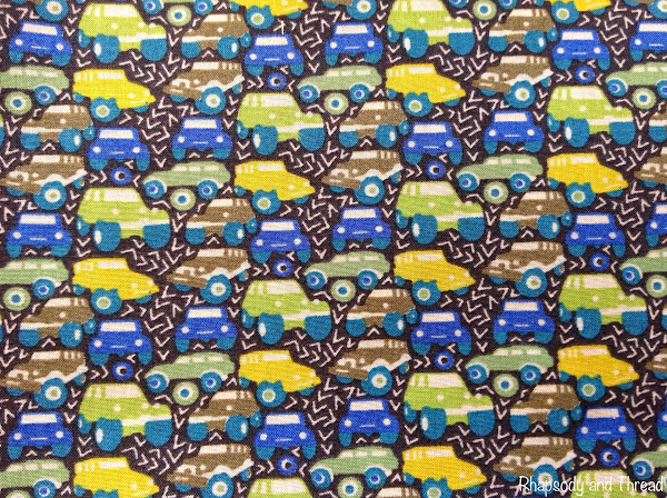 Hunter Truck print by Liberty of London