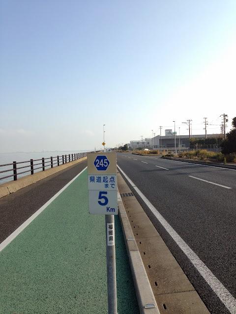 苅田港沿い