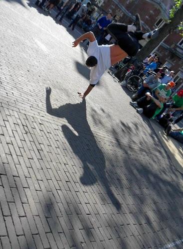 Amsterdam Artisti da strada