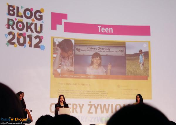 gala blog roku onet 2012 - cztery żywioły blog