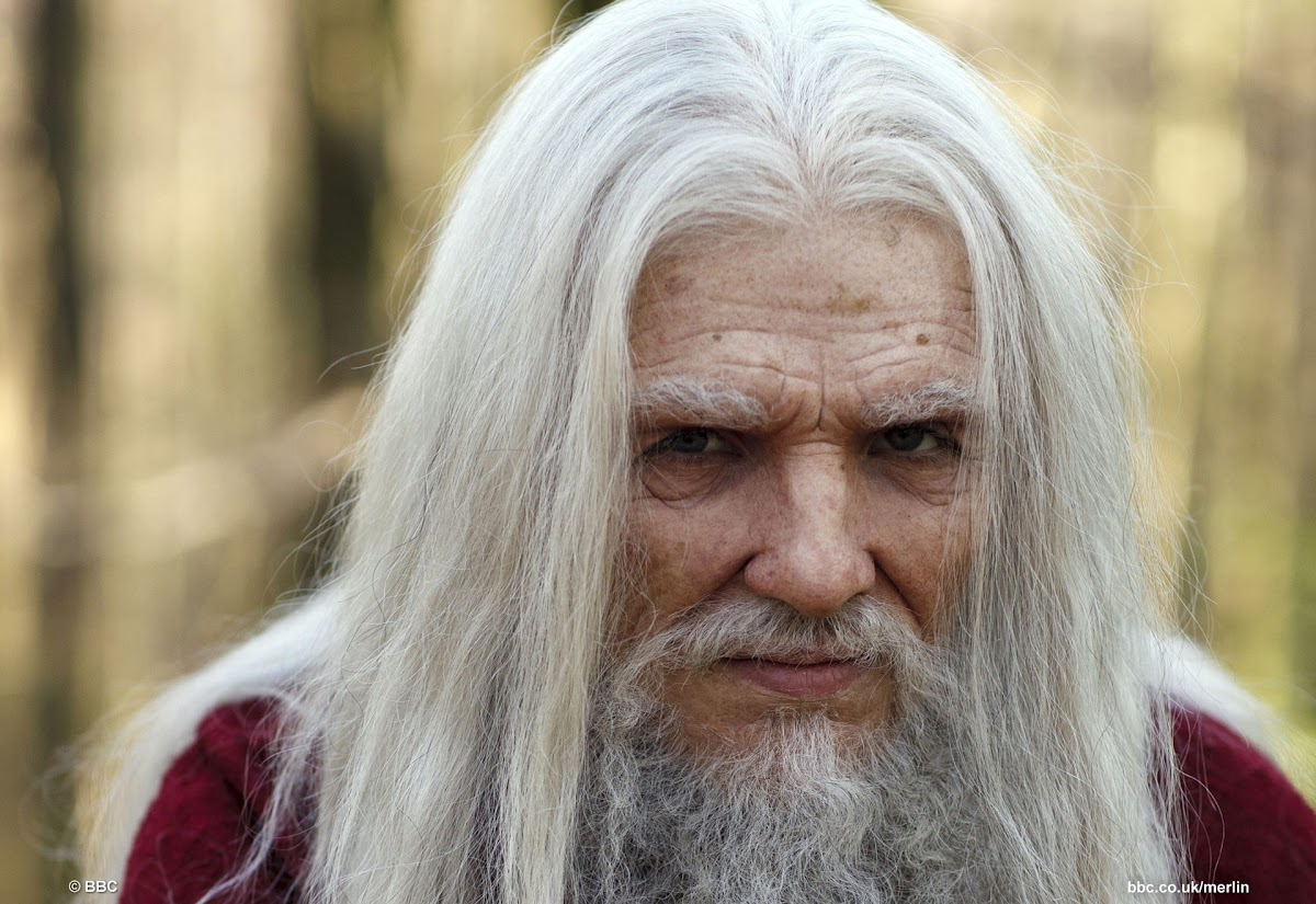 Colin Morgan is Emrys BBC Merlin