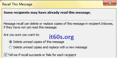 Cách hủy các email đã gửi nhầm đơn giản 4