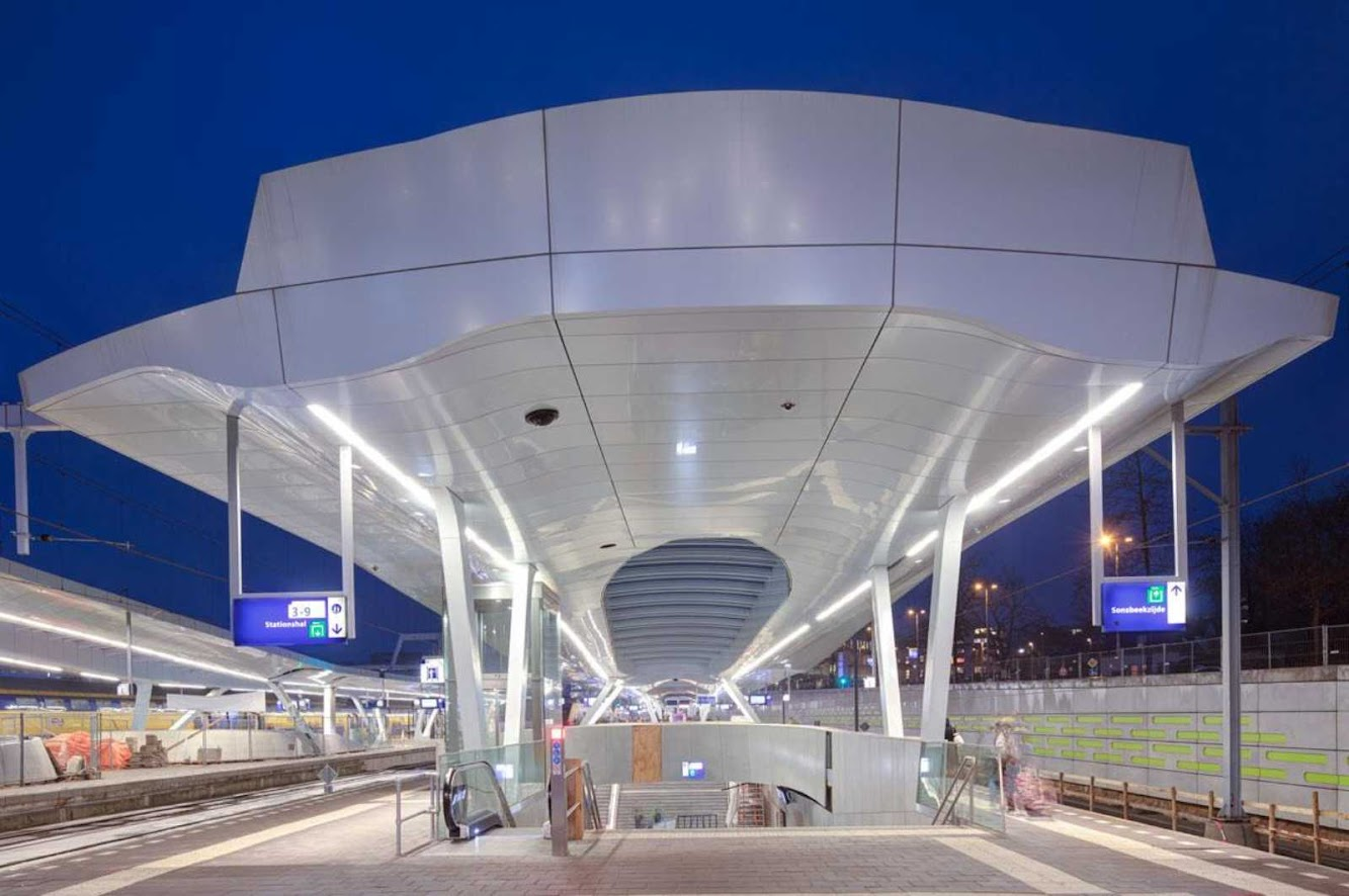 Station: ARNHEM CENTRAL PLATFORMS by UNSTUDIO