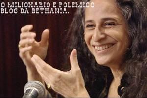 Críticas e Polêmcias. Maria Bethânia e seu blog milionário e polêmico.