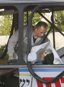 Image result for bombing; bus; jerusalem; israel; June 18; 2002; images;