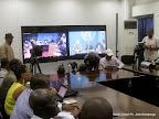 Vidéo Conférence de l'Onu du 20/08/2014 à Kinshasa. Radio Okapi/Ph. John Bompengo