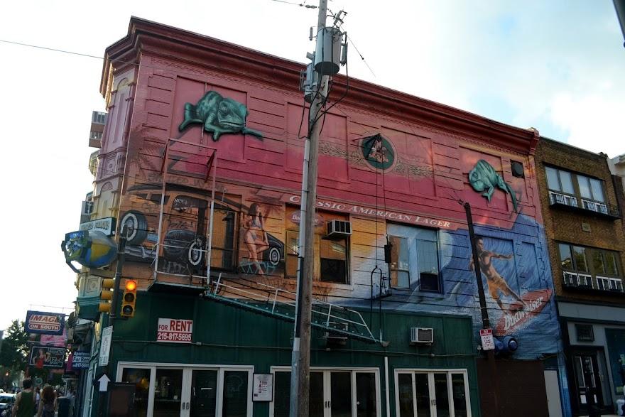 Муралы, Филадельфия, Пенсильвания (Philadelphia Murals, PA)