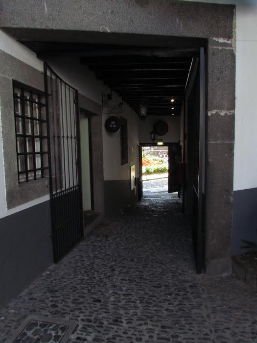 Madeira wine entrance