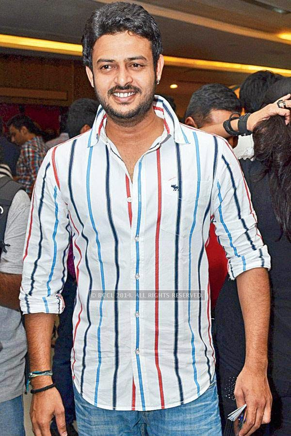 Bhupal during the screening of Salman Khan's latest film Kick, at a city multiplex.