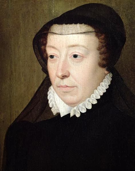 François Clouet - Portrait of Catherine de Medici
