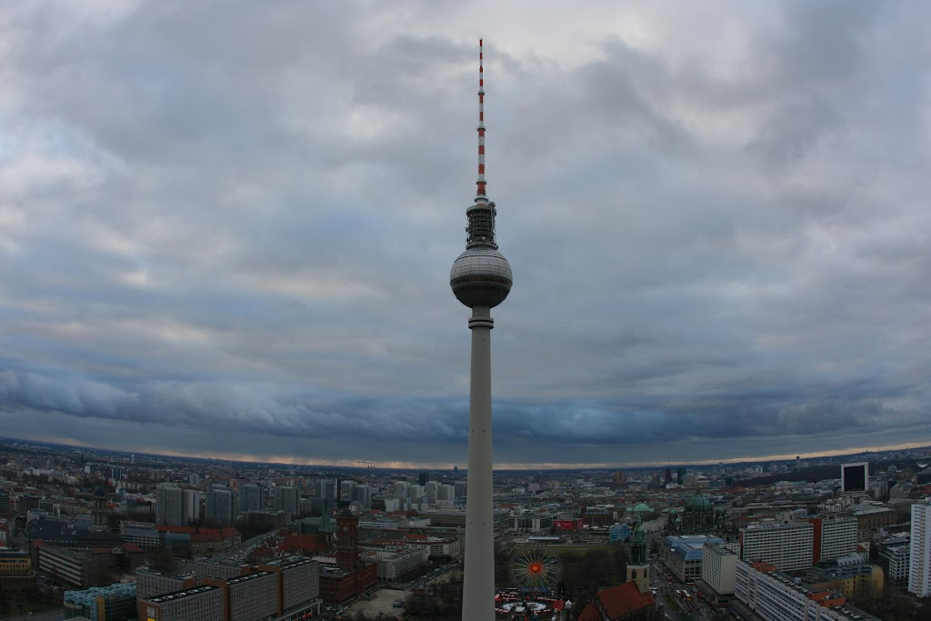 Irgendwie freue ich mich immer wenn ich ihn sehe - den Fernsehturm.