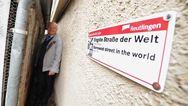 World's Narrowest Street Endangered