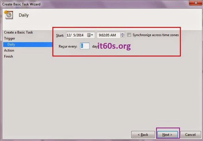 Thủ thuật cấu hình ứng dụng tự khởi động trong Windows 7 5