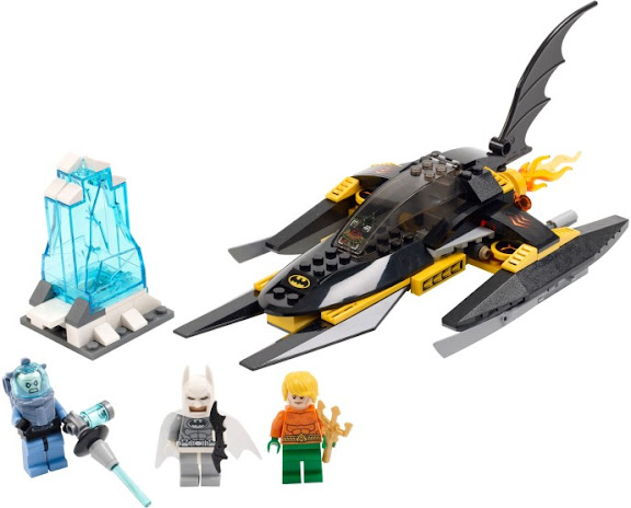 76000 レゴ バットマン vs ミスター・フリーズ 氷上のアクアマン