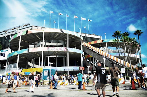Sun Life Stadium by Robby Campbell