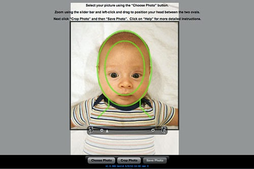 The redheaded stepchild diy passport photos with an infant how did i get it to the proper proportions fortunately the us government has an online tool to help with that solutioingenieria Image collections