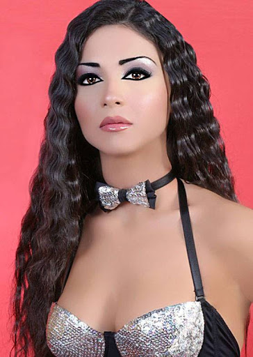 Arab Model Dolly Chahine Photo