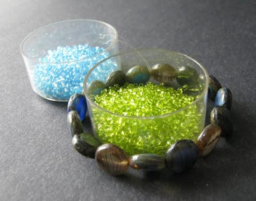 Blue Oasis Bead Palette