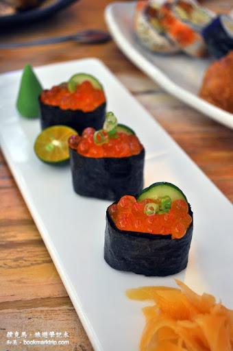 和屋日式料理鮭魚卵壽司