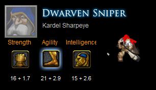Tướng trong Dota - Dwarven Sniper