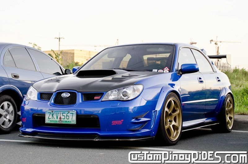 Mike Lanting Subaru Impreza STi Custom Pinoy Rides Car Photography Manila Philippines pic1