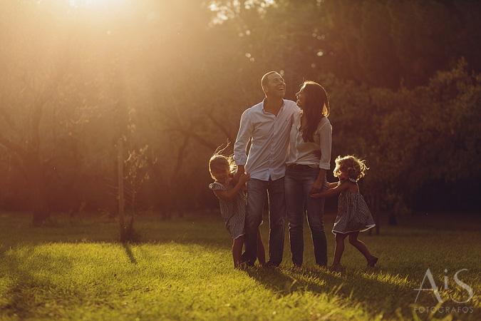 Fotos de familia en la Quinta de los Molinos