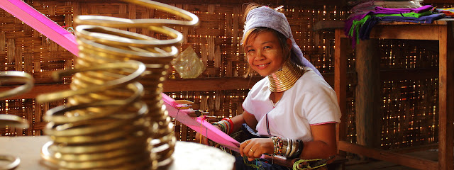 Long Necked Tribal Women of Burma