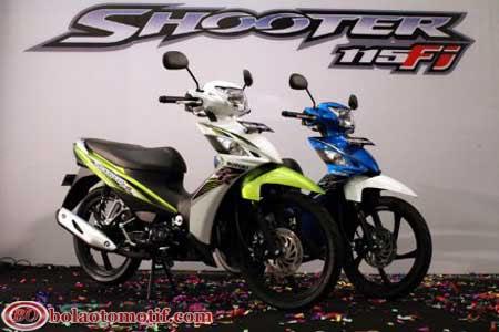 Motor baru Suzuki Shooter 115 FI