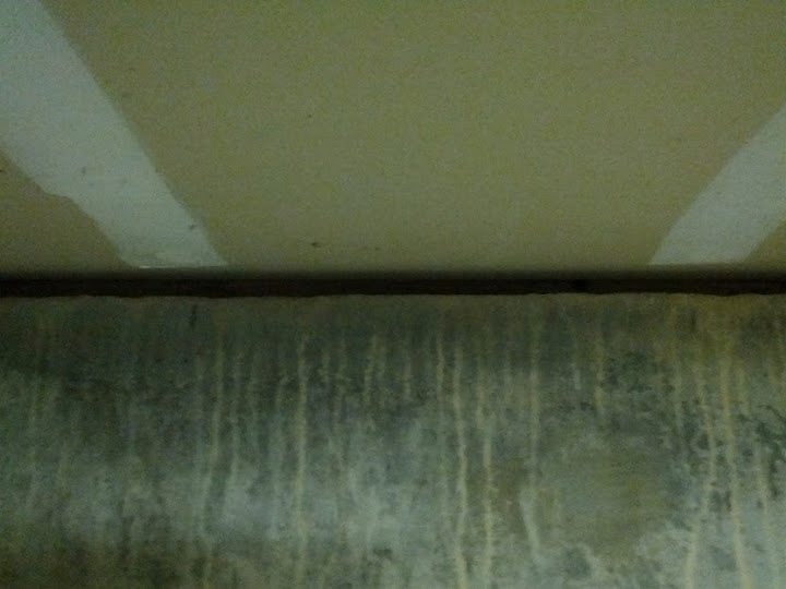 Gap At Top Of Concrete Wall To Drywalled Ceiling