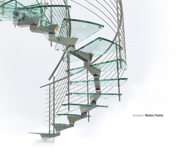 Il tuo architetto a genova una scala per interni di design for Sii il tuo architetto