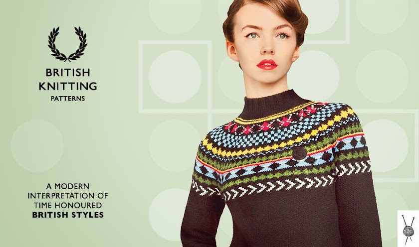 Fred Perry British Knitting Pattern, prendas para un invierno al más puro estilo british