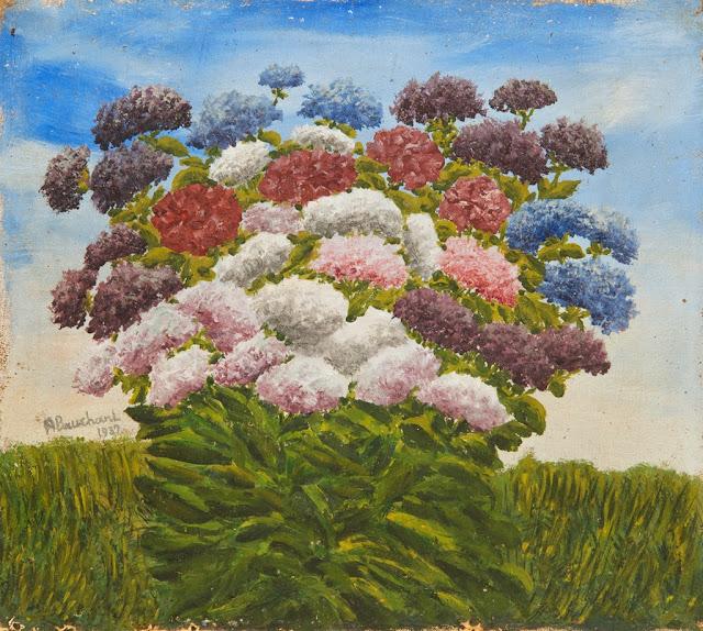 André Bauchant - Bouquet de fleurs, 1937
