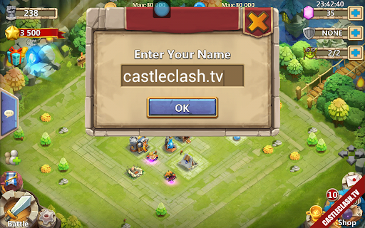 Sell Castle Clash Account with Pumpkin Cupid and Paladin