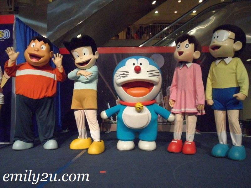 Doraemon & friends in Ipoh