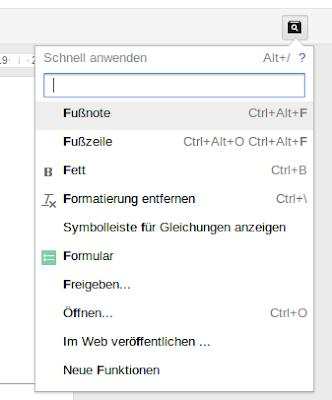 Google Docs schnell anwenden
