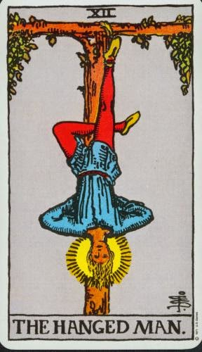 Friday Tarot The Fools Journey Cntd The Hanged Man