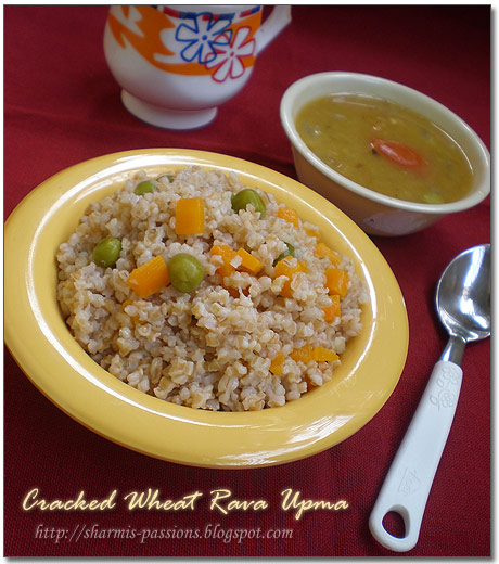 Cracked Wheat Upma